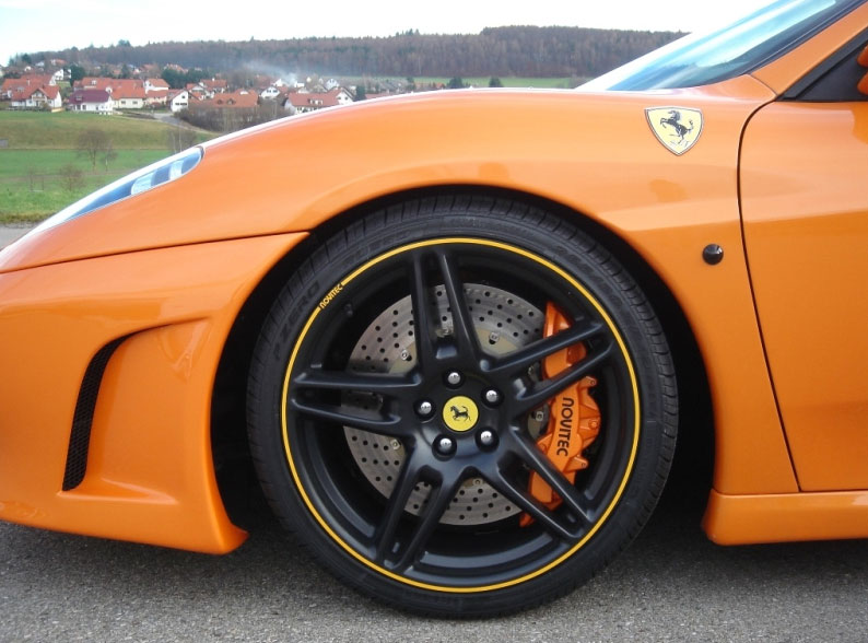 Novitec Rosso Tuning Products For The Ferrari F430 Brakes