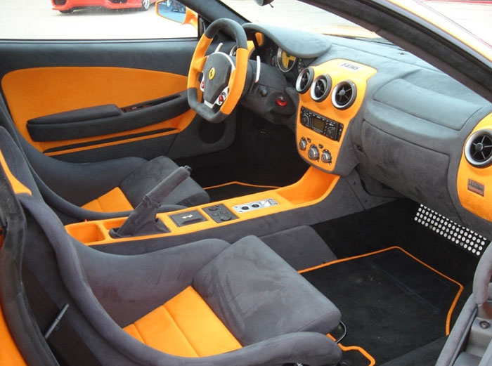 Novitec Rosso Tuning Products For The Ferrari F430 Interior
